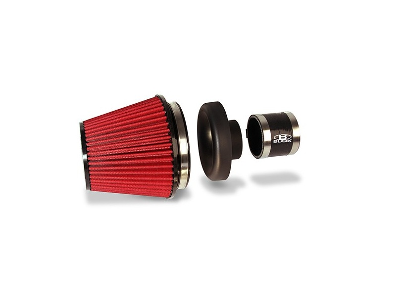 Blox Velocity Stack 3 Composite With Air Filter Amp Silicone Coupler Bxim 00303 Arev Motorsports